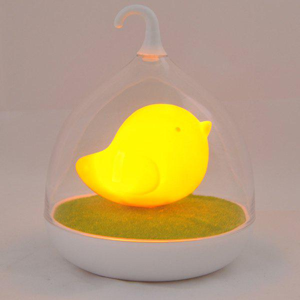 Fun Troopial Cage Induction Touch Goddess Night Light - ORANGE YELLOW