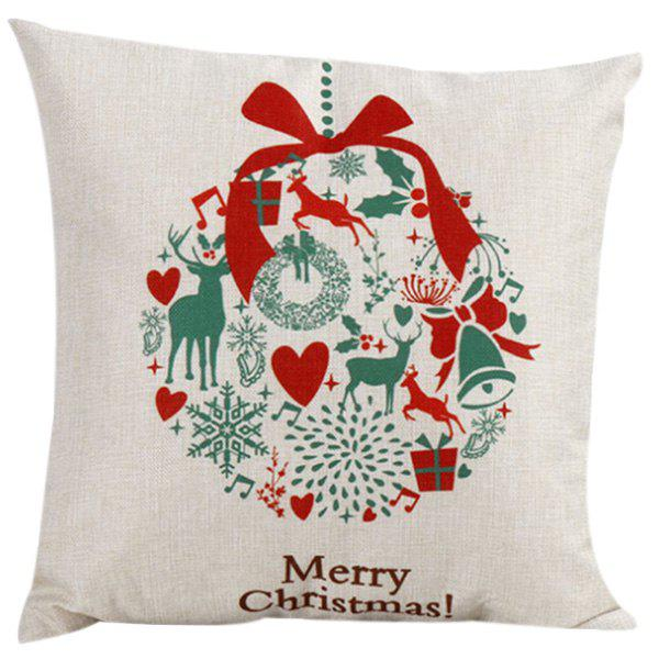 Soft Merry Christma Pillow Case - COLORMIX