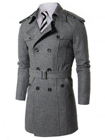53b67a0077a66 2019 Wool Trench Coat Online Store. Best Wool Trench Coat For Sale ...