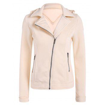 Cotton Zip-Up Thickening Winter Jacket