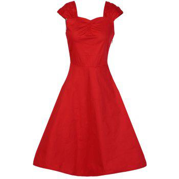 Fit and Flare Retro Dress