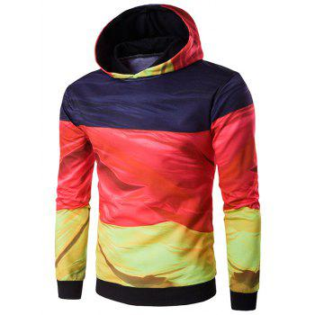 3D Flag of Germany Print Hoodie
