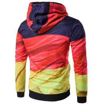 3D Flag of Germany Print Hoodie - COLORMIX M