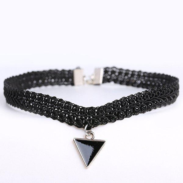 Triangle Hollow Out Choker Necklace ваза подвесная triangle