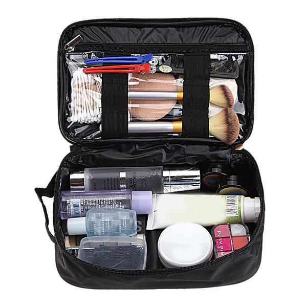 Zip Up Waterproof Travel Makeup Storage Bag portable canvas flower floral cosmetic bag travel toiletry wash makeup storage bags organizer make up case for women