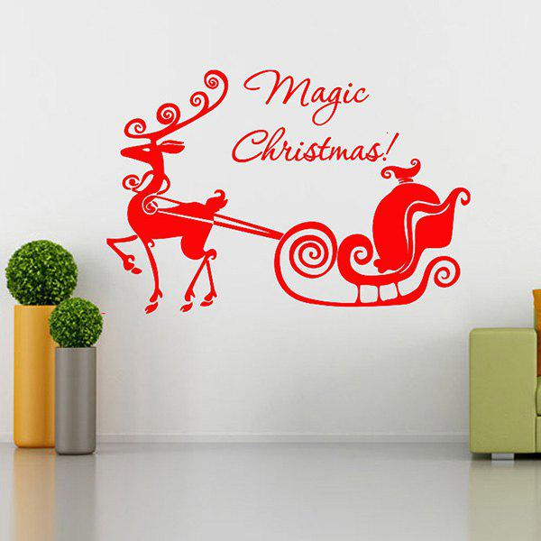 Magic Christmas Glass Window Removable Wall Stickers flower girls dress 11 color with rose party birthday chirstening dress for baby girl princess children toddler girl vest dresses