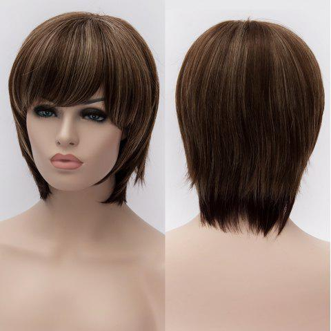 Skilful Women s Mult-Color Short Capless Heat Resistant Synthetic Wig -  COLORMIX f6583804d5