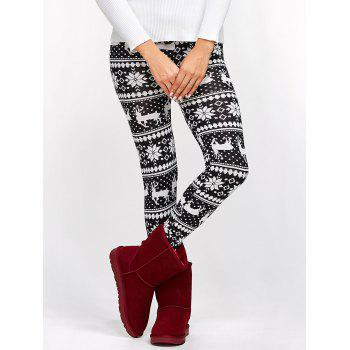Fawn Christmas Bodycon Leggings
