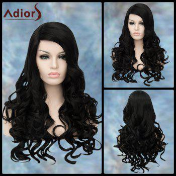 Long Wavy Side Parting Adiors Lolita Synthetic Wig