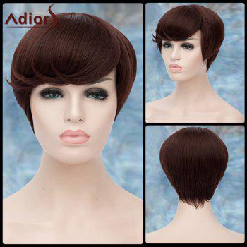 Spiffy Short Straight Side Bang Adiors Lolita Synthetic Wig