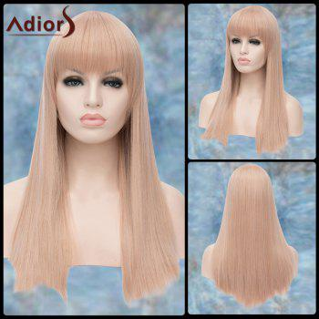 Long Straight Full Bang Lolita Adiors Synthetic Wig