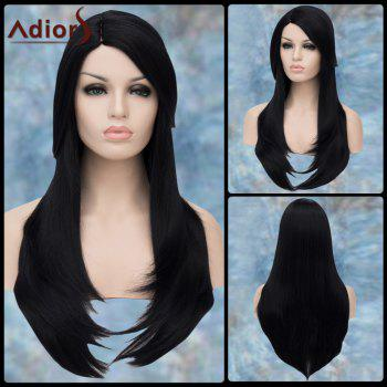 Long Straight Side Parting Layered Tail Adduction Adiors Lolita Synthetic Wig