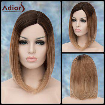 Adiors Straight Medium Ombre Side Parting Synthetic Wig