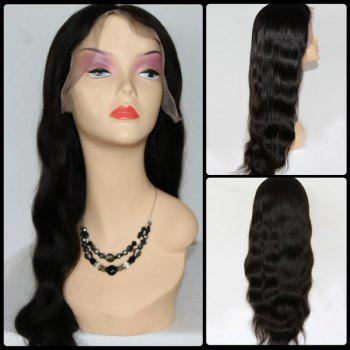 Body Wave Centre Parting Brazilian Long Lace Front Human Hair Wig