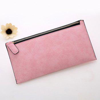 Faux Leather Zip Up Coin Purse