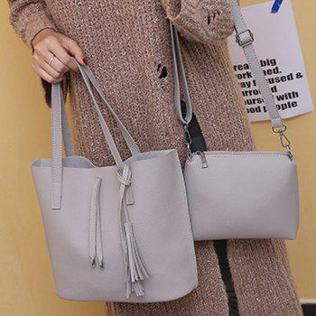Crossbody Purse and Tassels Tote