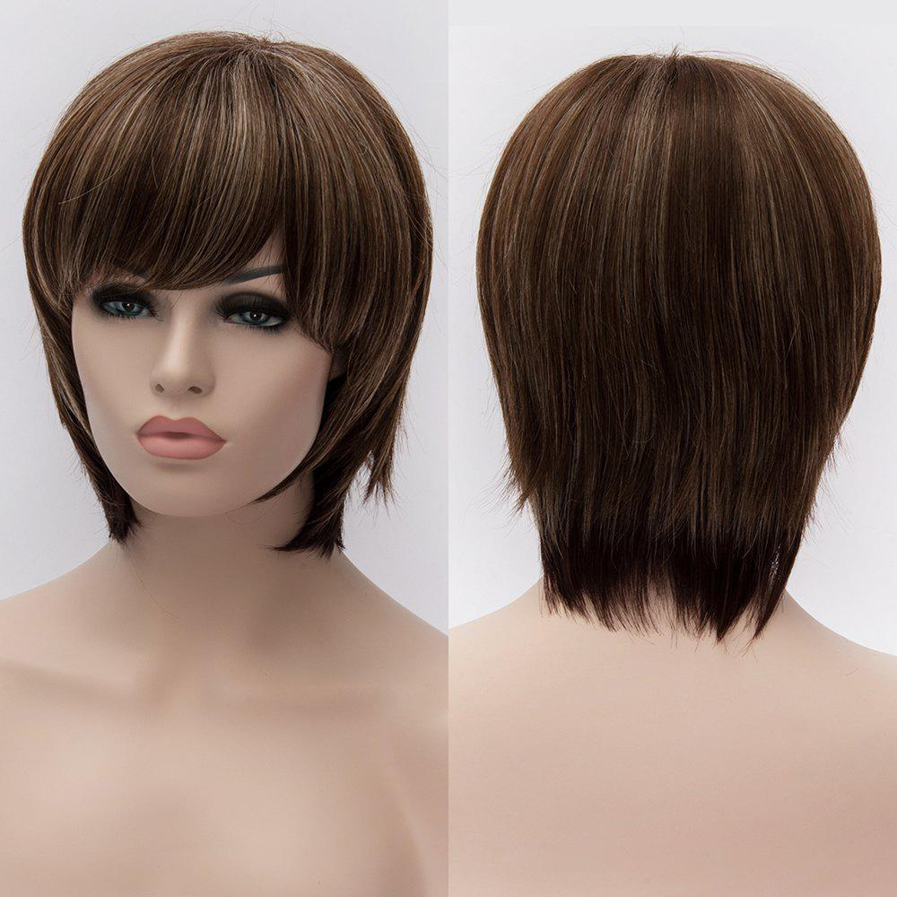 Skilful Womens Mult-color Short Capless Heat Resistant Synthetic Wig