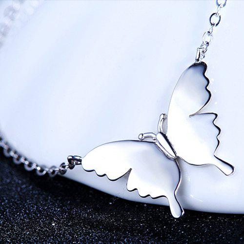 Adorn Butterfly Necklace - SILVER