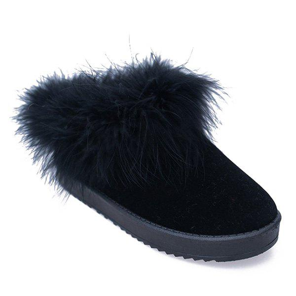 Flocking Faux Fur Snow Boots club brand australia women boots sheepskin leather snow boots 100% natural fur snow boots warm wool winter boots botas mujer