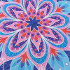 Floral Shape Beach Throw - CLOUDY ONE SIZE
