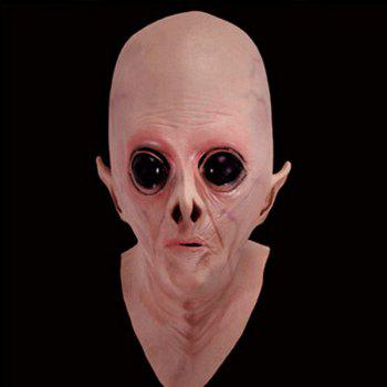 Halloween UFO Aliens Latex Mask Cosplay Prop For Fancy Ball Party Show - COMPLEXION COMPLEXION