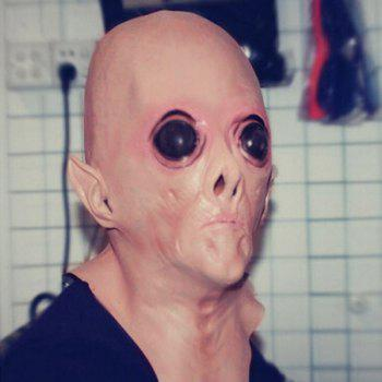 Halloween UFO Aliens Latex Mask Cosplay Prop For Fancy Ball Party Show -  COMPLEXION