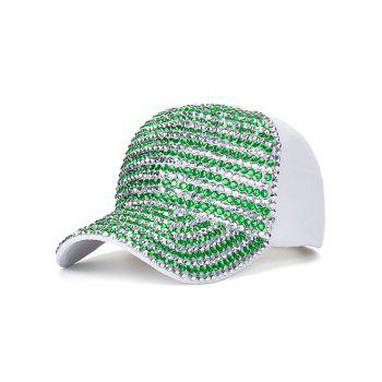 Bling Rhinestone Embellished Baseball Hat