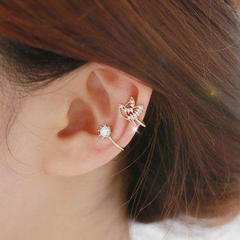 ONE PIECE Rhinestone Adorn Ear Cuff
