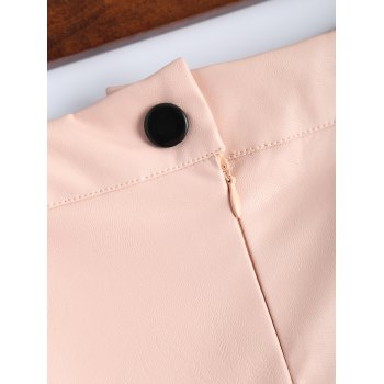 Faux Leather Pencil Skirt - S S