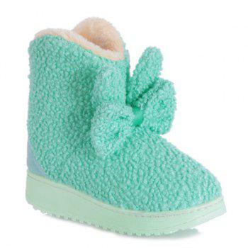 Platform Bowkont Flocking Snow Boots