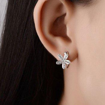 Mirco Floral Alloy Earrings