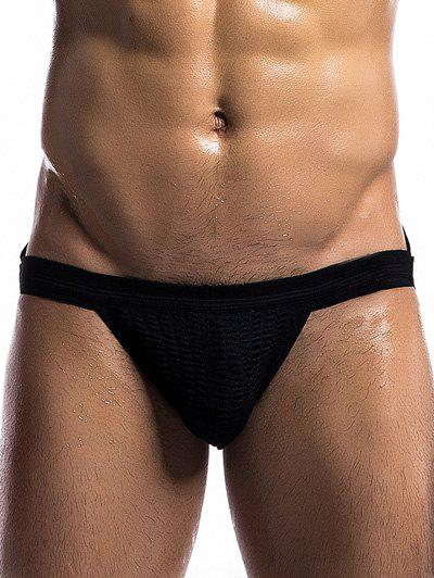 U Convex Pouch Back Hollow Out Design String T-Back