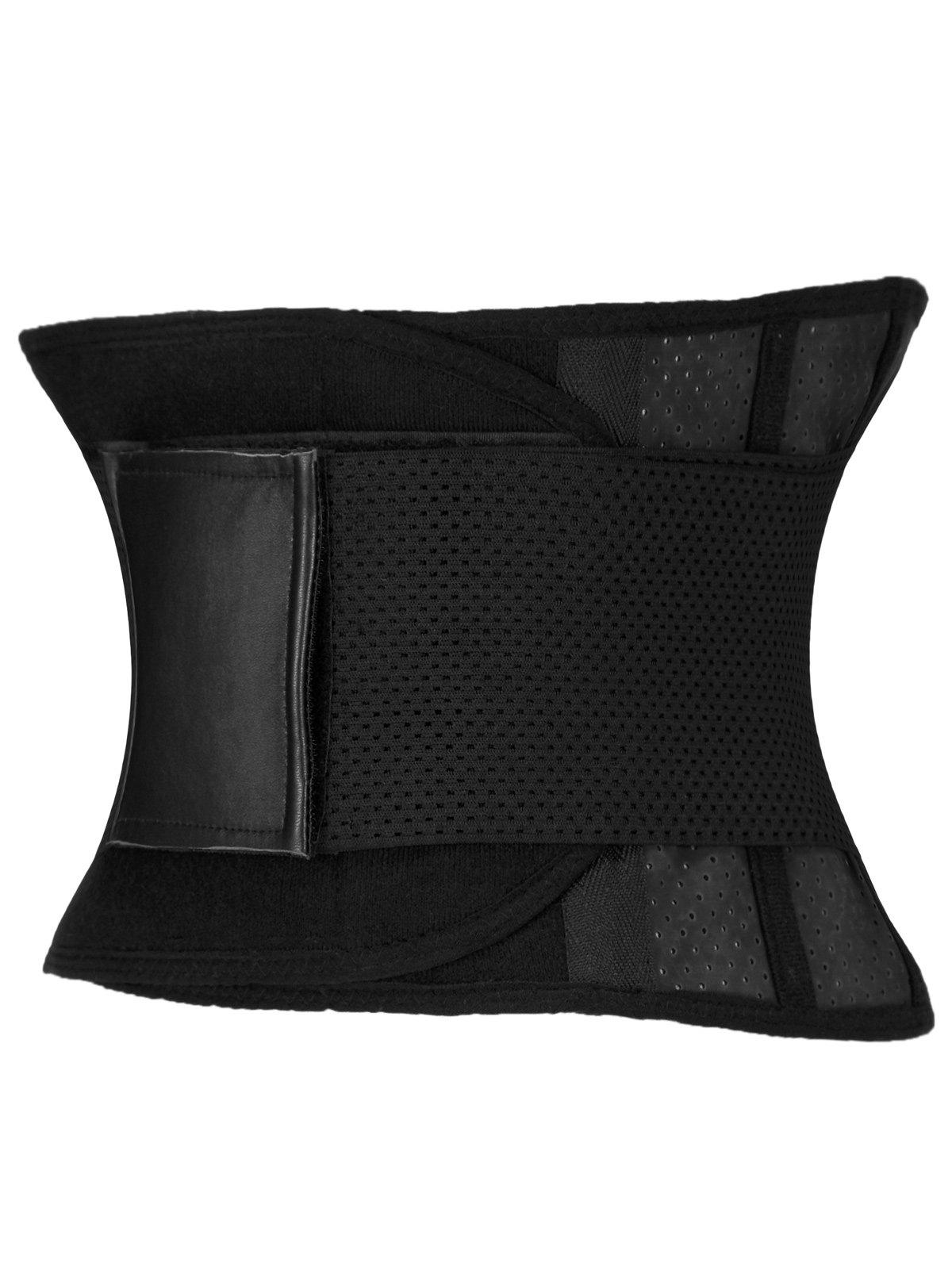 Stretched Waist Slimming Corset - BLACK M