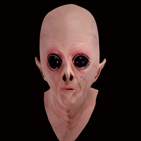 Halloween UFO Aliens Latex Mask Cosplay Prop For Fancy Ball Party Show creative halloween ufo aliens latex mask cosplay prop for fancy ball party show