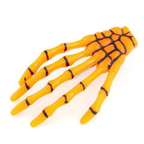 Skeleton Hand Halloween Hair Clip