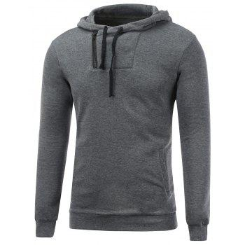 Long Sleeve Side Zip Up Pullover Hoodie
