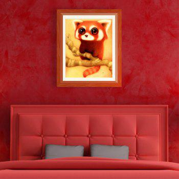 point de croix DIY Rat Cartoon animal Zircon - Rouge