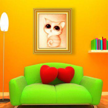 DIY Cartoon Kitten Animal Beads Cross Stitch