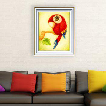DIY Cartoon Parrot Animal Beads Cross Stitch