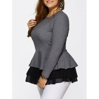 Skinny Skirted Pullover Sweater