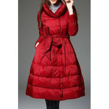 A Line Walker Quilted Coat