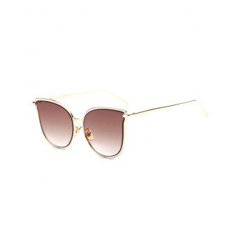 Travel Hollow Out Double Frames Butterfly Shaped Sunglasses