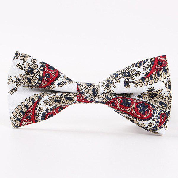 British Style Flower Shivering Bow Tie - COLORMIX
