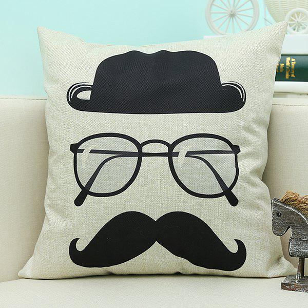 Home Decor Cartoon Glasses Printed Cushion Linen Pillow Case wall mounted black oil rubbed bronze bathroom dual ceramic handles bathtub mixer tap with handheld shower head faucet wtf040