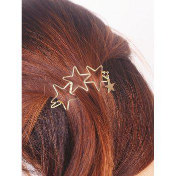 Star Hollowed Hairpin