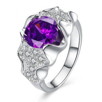 Adorn Artificial Amethyst Ring