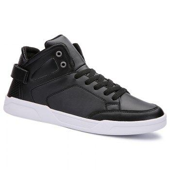 Lace Up High Top Skate Shoes