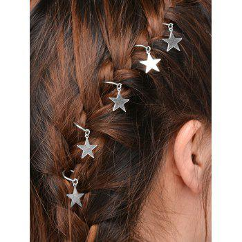 5 PCS Star Hair Accessories