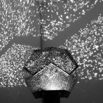 Novelty Electronic Super Bright Four Seasons Starry Sky Projector Lamp - WHITE