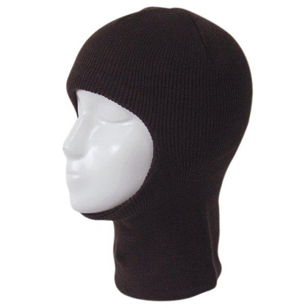 dresslily - Knit Face Mask Neck Warmer Ski Cap